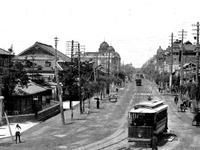 1913年_大正03_東葉銀座_レンガ街_路面電車_トラム_112