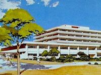 1982年_昭和57年_船橋市_船橋市民医療センター完成予想図_DSC08459T