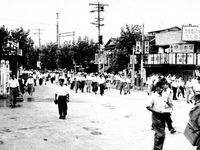 1955年_昭和30年_船橋市本町_船橋駅前通り商店街_030