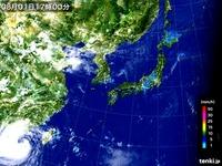 20160801_1700_気象衛星_可視画像_110