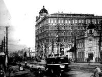 1872年_明治初期_東京京橋_ジョージア様式レンガ街_ガス燈_116