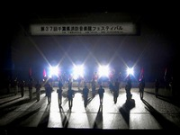 20151024_消防音楽隊_ステージマーチングショー_1509_35034