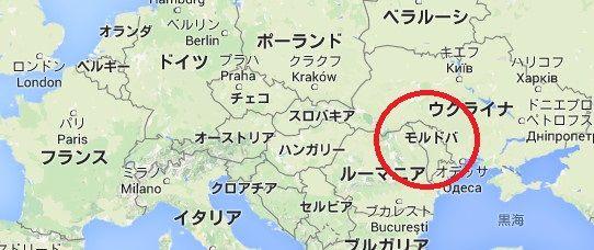 「モルドバ 地図」の画像検索結果