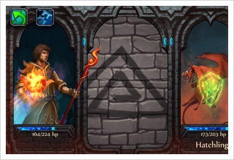 Elementalist - シンボルを指でなぞって戦う魔法世界のRPG。
