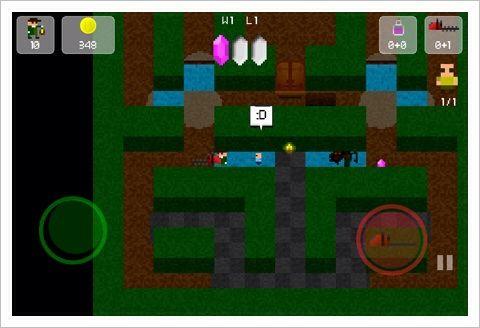 Hedges  - キュートな8bitキャラの救出迷路ゲーム。おもしろい。
