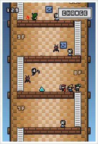8歩の塔 - 限られた歩数でちまちま進むパズルRPG。