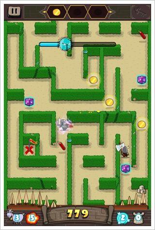 Maze Crusade - 勝手に動く迷路で戦うスルメ系ゲーム。