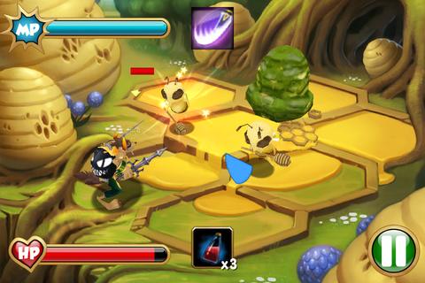 Secret Kingdoms Mobile - スワイプ操作で戦うアクション戦略RPG。無料。
