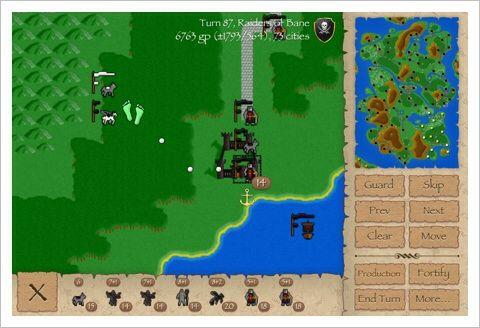 Warlords Classic - This is classic! ファンタジー・シミュレーションRPGの傑作!