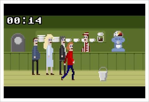 Mc pixel - すべてがシュールに進む、人生の一場面の選択肢を素敵に描いたドット絵ゲーム。