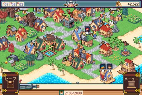 Epic Pirates Story - のんびり遊べるドット絵の海賊ストラテジーRPG。