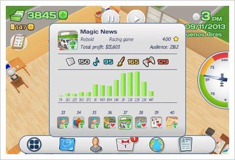 Office Story - アプリ開発運営会社をゲームで体験してみよう。