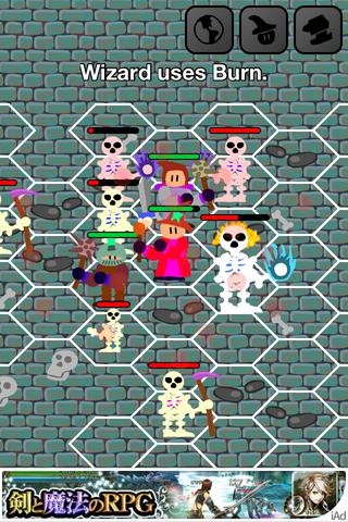 Adventures In Eloria - 脆弱なキャラがヘナヘナと戦うシミュレーションRPG。