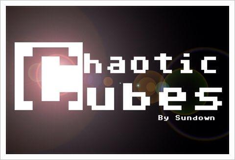 Chaotic Cubes - ゆったりキューブをよけるドットゲー。