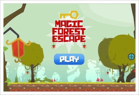 Magic Forest Escape - 魔法の森をさまよっちまったぜ。