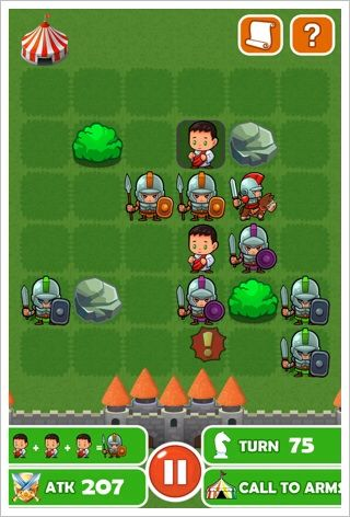 パズル大戦  ローマの戦い - RPG要素のあるマッチ3パズル再び。