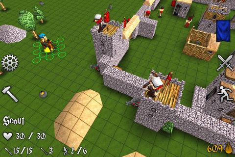 Battles And Castles - Minecraftのような世界で箱男たちが戦うファンタジー戦略ストラテジー。
