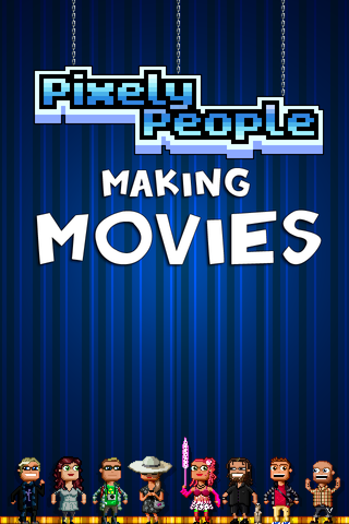 Pixely People Making Movies  - ちょっと薄気味悪い映画製作シミュレーション。