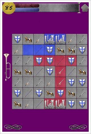 Little Match Battles - いなたいデザインだけど少し癖になる対戦型マッチ3パズル。