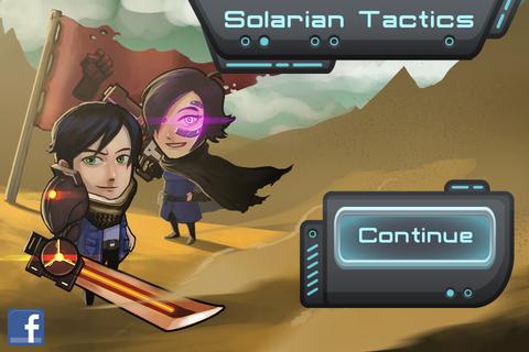Solarian Tactics - SF風ターンベース・シミュレーションRPG+顔が恐い。