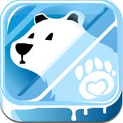 Polar Rescue - ホッキョクグマにドーンとぶつかっていくゲーム。(85円)