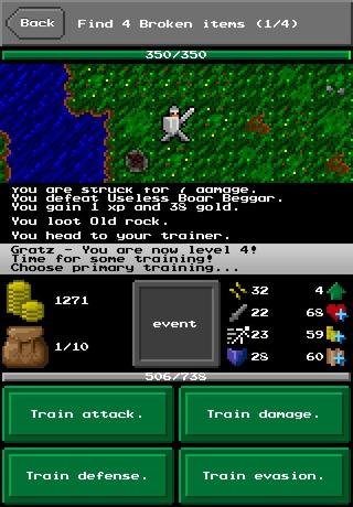 Fantasy Grind - なんとなくおもしろそうだったけど、よくわからなかった一本道RPG。