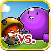 スライム対キノコ - Plants vs. Zombiesのクローン。(85円→無料)