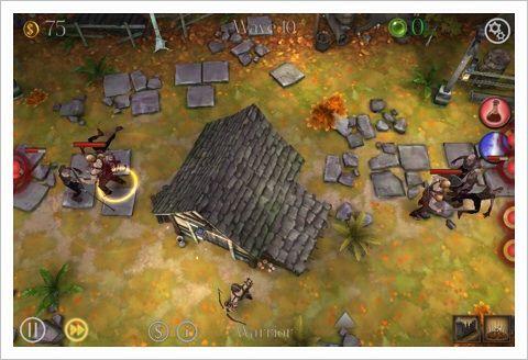 Dark Frontier - じわじわと攻め込まれるダークファンタジー・ディフェンスゲーム。