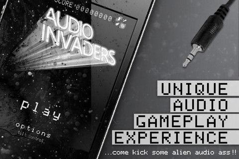 Audio Invaders - 信じるのは自分の耳のみ。体感型インベーダー。85円