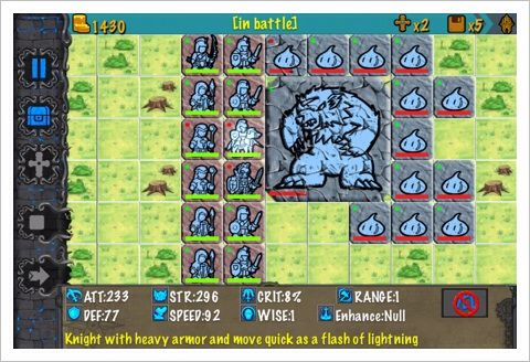 RockWar - 思い出したかのように登場する隊列を組んで戦う系の戦略RPG。