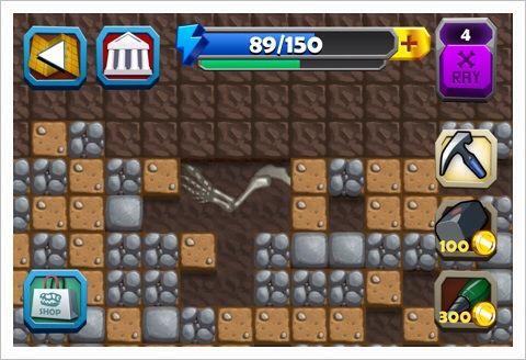 Dino Quest - いつかはやってみたい恐竜化石の発掘作業。