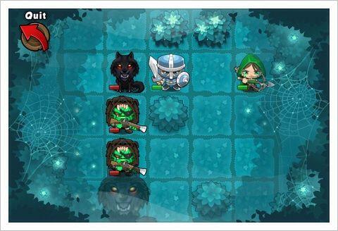 Pocket Titans - パズル要素の強いターン制のシミュレーションRPG。おもしろいよ。