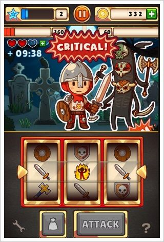 Spin Hero - デザイン最高、中身もおもしろいスロットRPG。