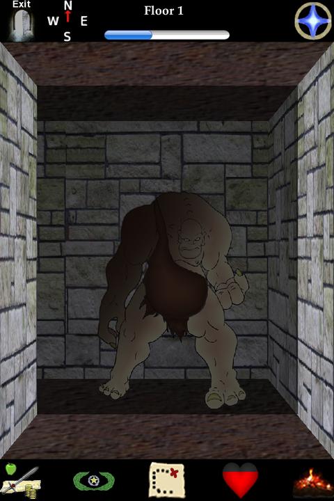Tumulus Of Fen - ウィザードリーライクな3Dダンジョンクローラー。(85円)