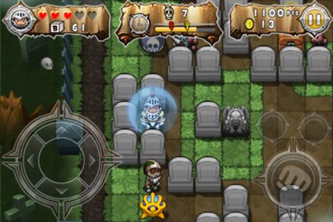 Block Knight - ブロックで敵を挟みつける、それがブロックナイト。85円→無料。