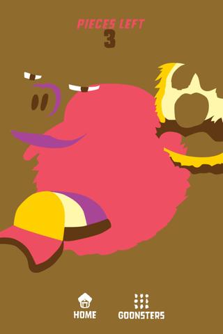 Goonsters - アーティスティックなモンスターの顔を作れ。無料。
