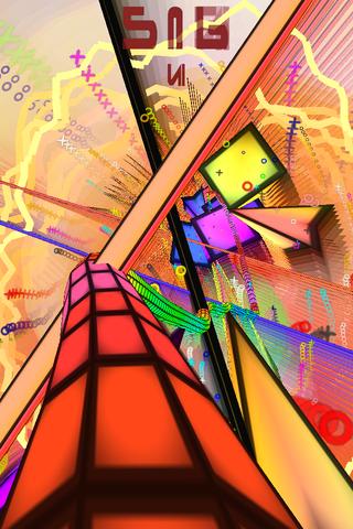 Synesthetic Lite - Audiosurf系のトリッピーなビジュアルサウンドゲーム。無料