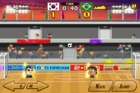 Head Soccer - くにおくんシリーズが好きだったら迷わずダウンロードを!85円→無料