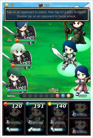 Heroes of Frontier (RPG) - ポップなキャラを進化させて戦うターン制RPG。