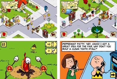 Snoopy's Street Fair - 11月にスヌーピーのソーシャルゲームがでるって。