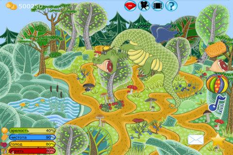 Funny Animals Dragon - 本日の育成枠はサイケデリックなドラゴン育成。