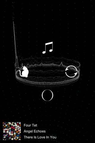 VIbrium - コズミックでオシャレなサウンドビジュアライザー。