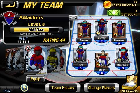 Big Win Hockey - デッキ構築型オンライン・ホッケー・シミュレーション。