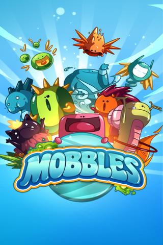 Mobbles - 位置情報と連動したフランス産収集/育成ゲーム。無料。