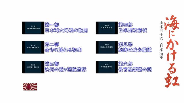 海にかける虹 山本五十六と日本海軍 (1983)全6話