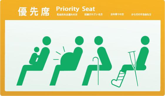 【画像】電車の優先席でノーパソいじってるこの女wwwww