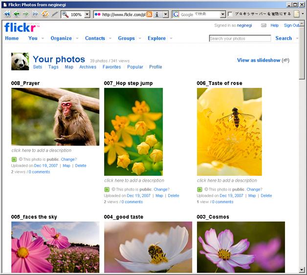 サイト比較_01Flickr