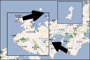 円月島Map
