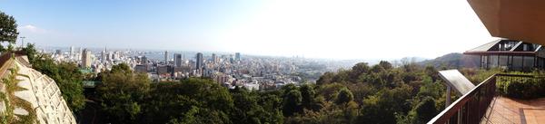 諏訪山公園展望台