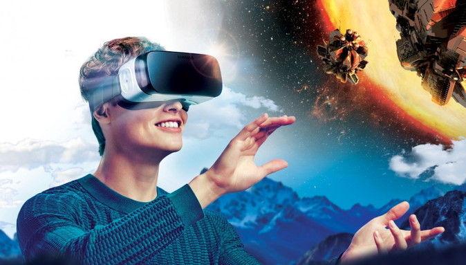【VR】VR体験前ぼく「要するに新規格のディスプレイみたいなもんでしょ?ディスプレイメーカーと勝負になっていくのかな?」のサムネイル画像